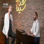 اجرای زنده نوش آفرین در برنامه چندشنبه با سینا