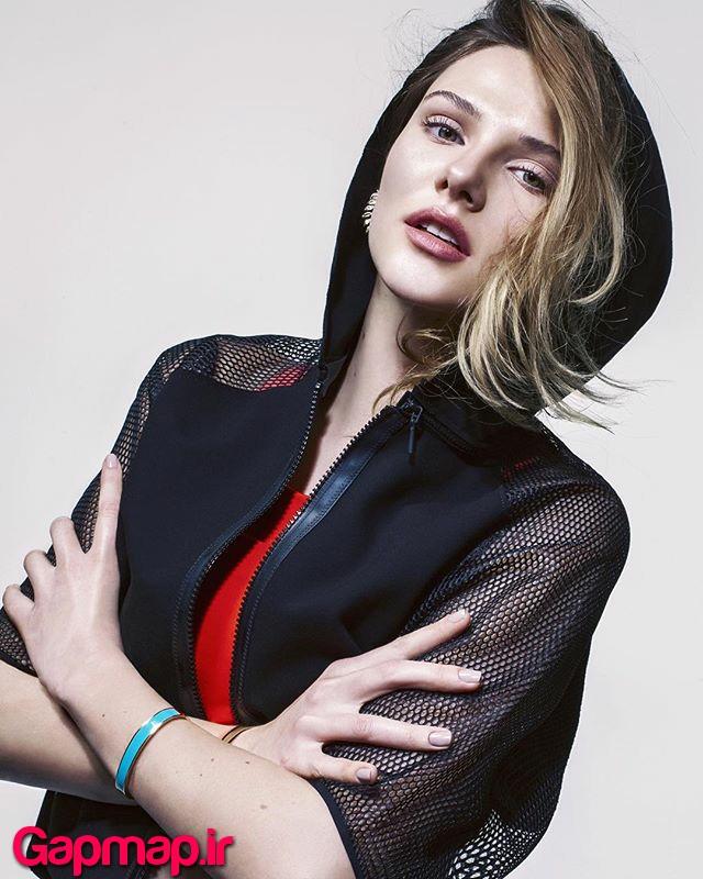 عکس های آلینا بُز بازیگر نقش غزل در سریال گوزل