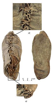 کفش آرنی-۱، قدیمی ترین پاپوش کشف شده