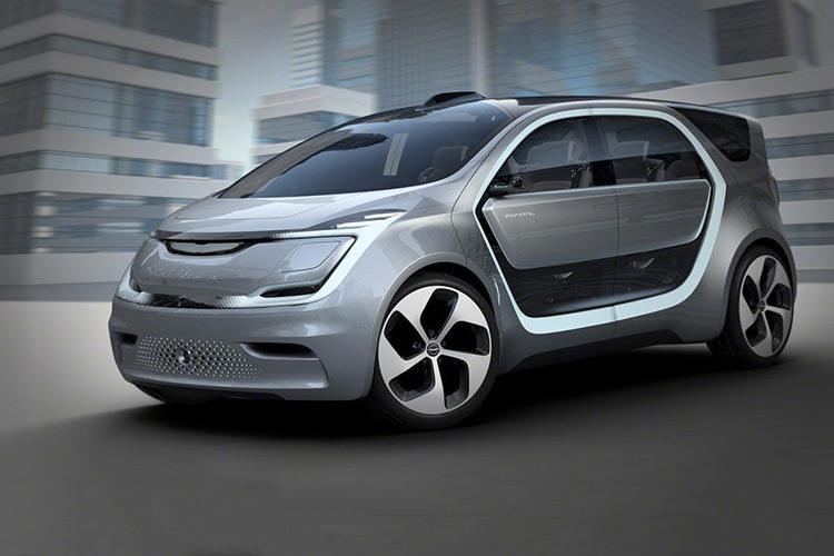 کرایسلر خودروی مفهومی Portal EV را معرفی کرد