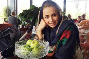 عکس دیده نشده شبنم قلی خانی و دختر شانا
