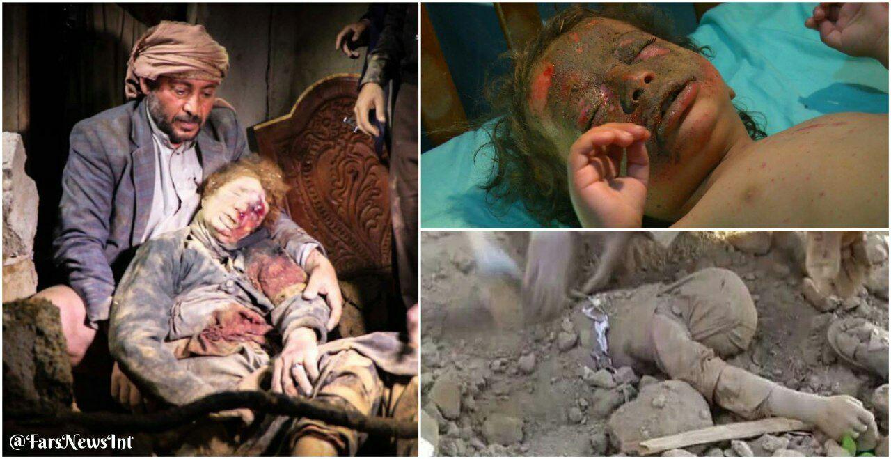 جنایت جدید سعودیها در یمن