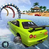دانلود بازی Water Surfer Beach Car Driving v1.1 برای اندروید