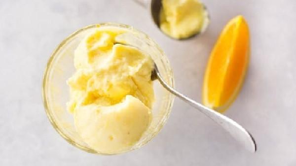 یخ در بهشت آناناس و پرتقال