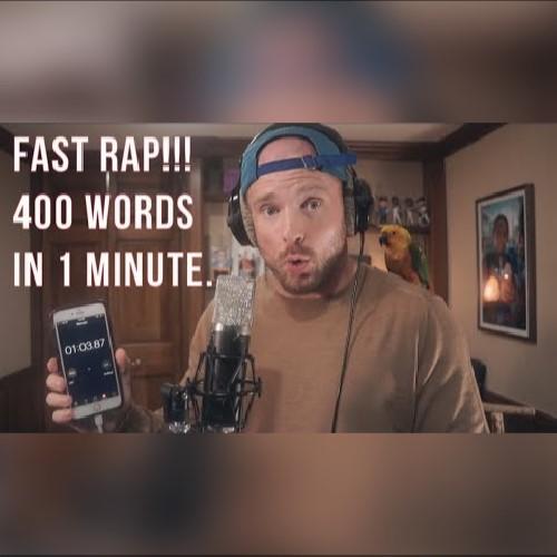 رپ سریع - 400 کلمه در یک دقیقه