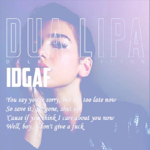 موزیک ویدئو Dua Lipa به نام IDGAF
