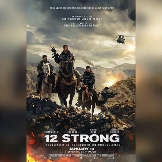 دانلود فیلم 12 نیرومند 2018